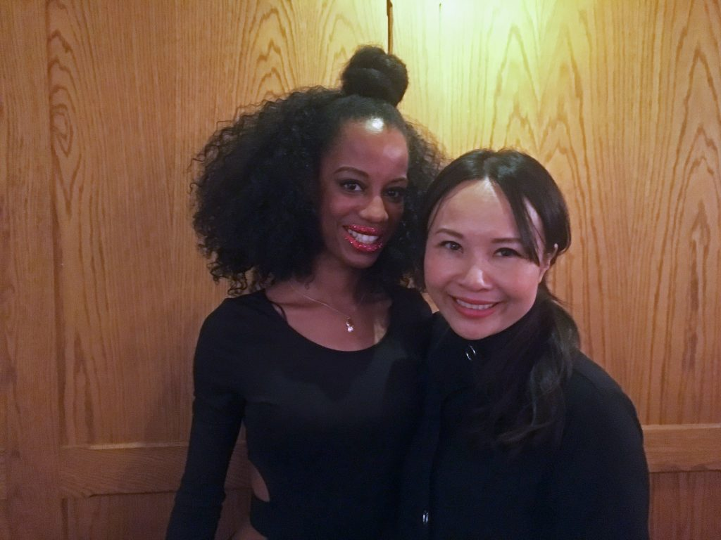 Latoya Lovell and Ching-He Huang Selfie